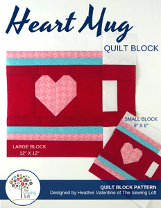 Heart Mug Block Pattern