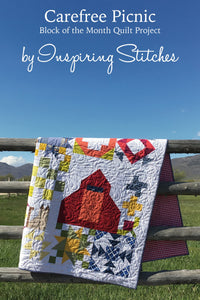 Carefree Picnic BOM Quilt Pattern