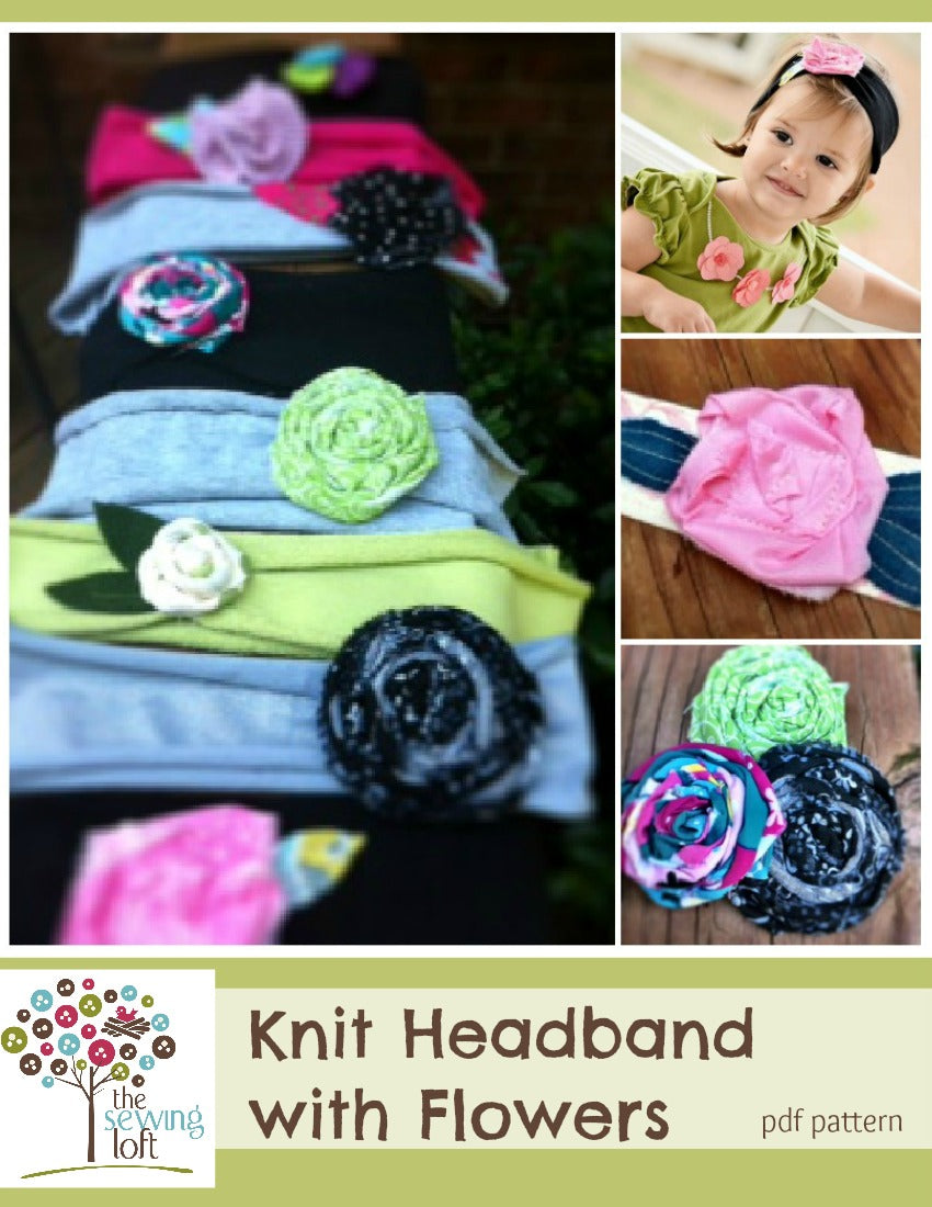 Knit Fabric Headband Pattern