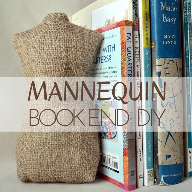 Mannequin Book End Pattern Template