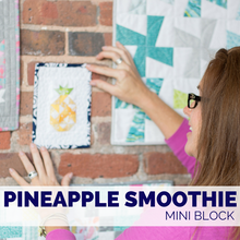 Pineapple Smoothie Block