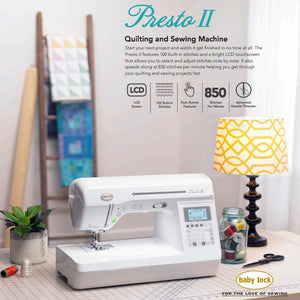 Presto II Sewing Machine Rental