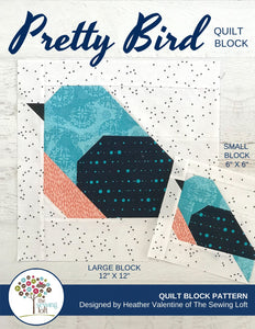 Pretty Bird Quilt Block Pattern