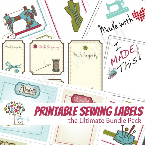 Sewing Labels - Ultimate Bundle Pack