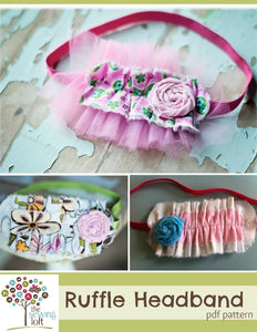 Ruffle Headband Pattern