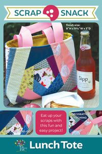 Lunch Tote Scrap Snack Patterns | Wholesale