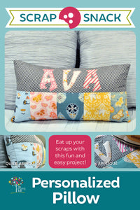 Personalized Pillow Scrap Snack Patterns | Wholesale