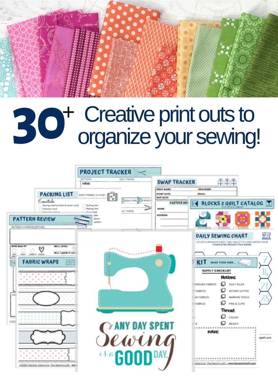 Sew Organized Printable Pack