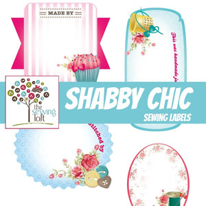 Shabby Chic Quilt Labels