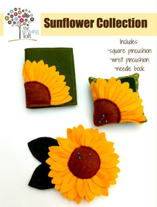 Sunflower Pincushion Collection