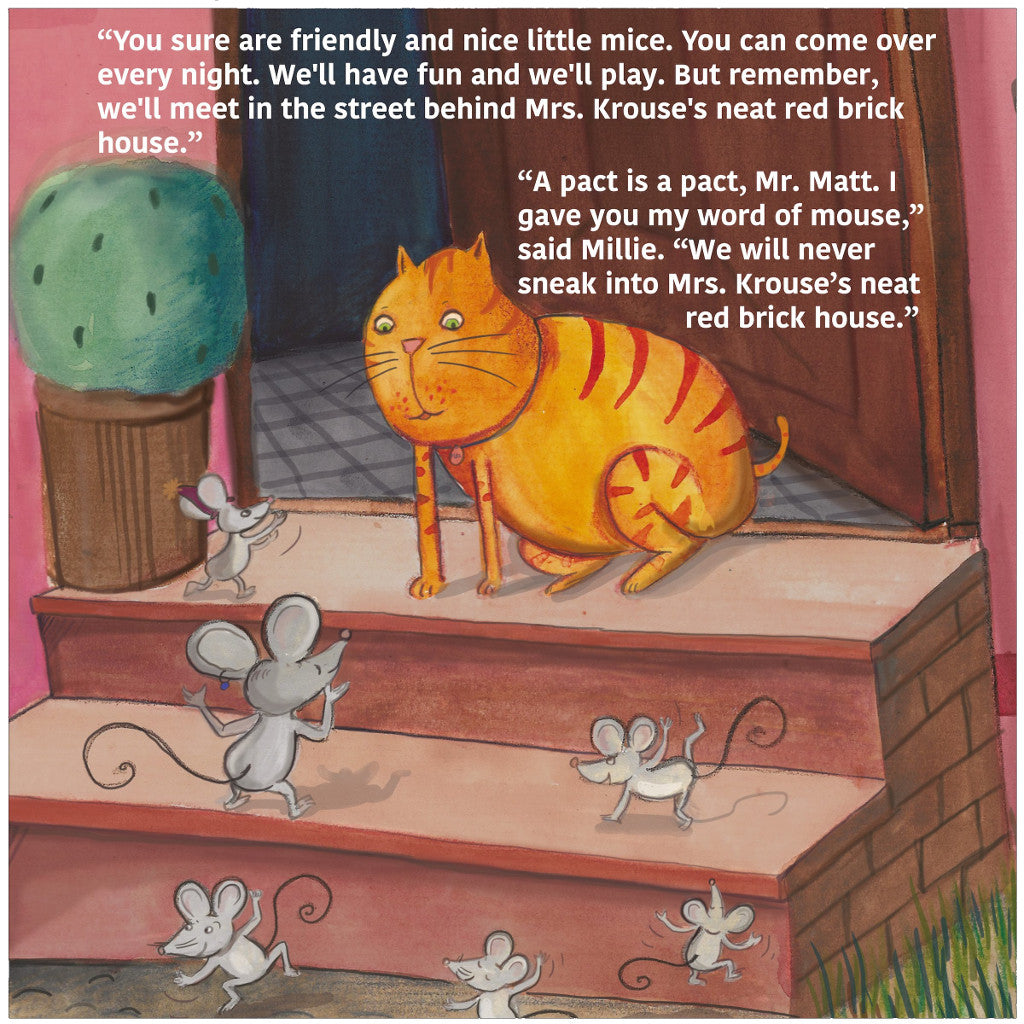 A Cat and Mouse Pact Inside Page