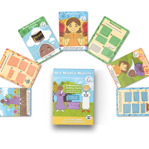 Flashcards 25 Pack Islamic Mindfulness Activities for Children/Kids