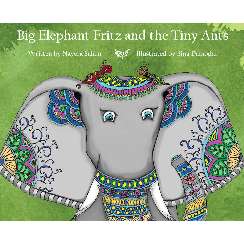Big Elephant Fritz and the Tiny Ants Front Cover