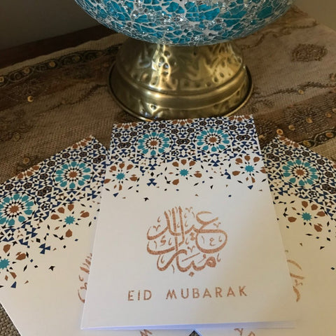 Moroccan Eid Greeting Card