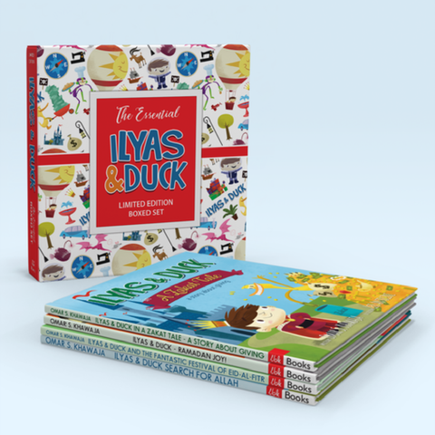 Ilyas and Duck Special Edition Library Set - 4 Book Set