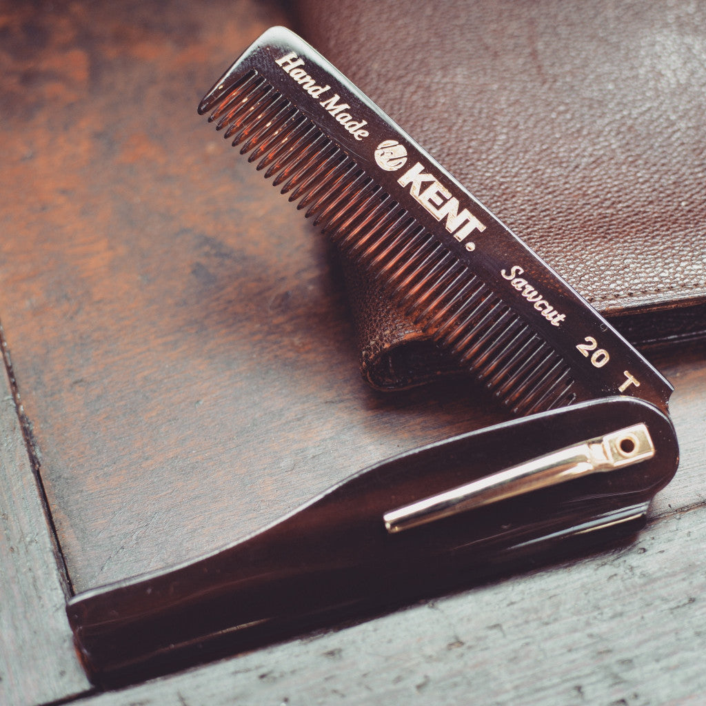 Kent 20T Mens Folding Pocket Comb