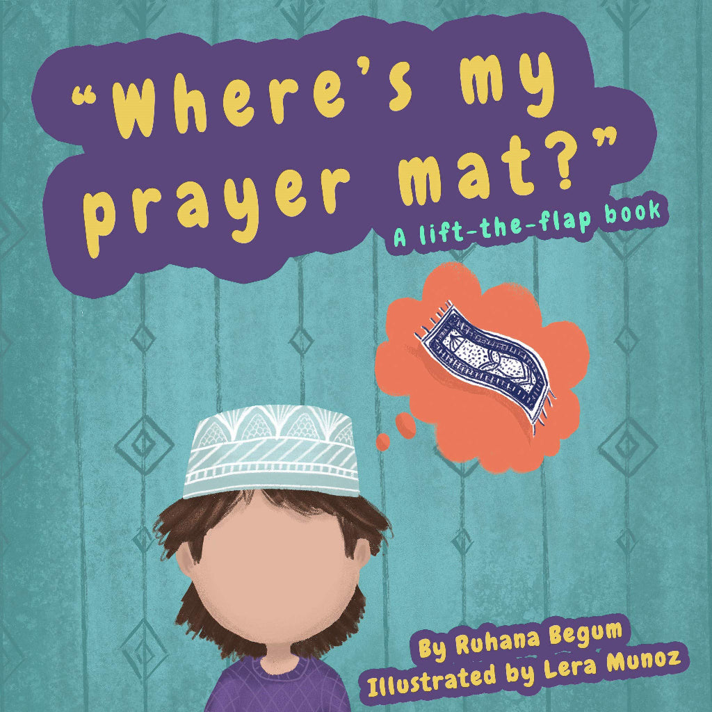 Where's My Prayer Mat? Front Cover