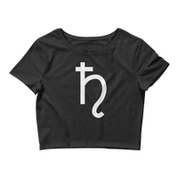 SATURN - Women's Crop Tee