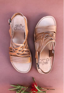 Gaia Soul - Egipcias Sandals in Tan