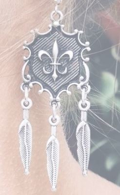 Lost Lover Fleur, Anatolian Collection Earrings