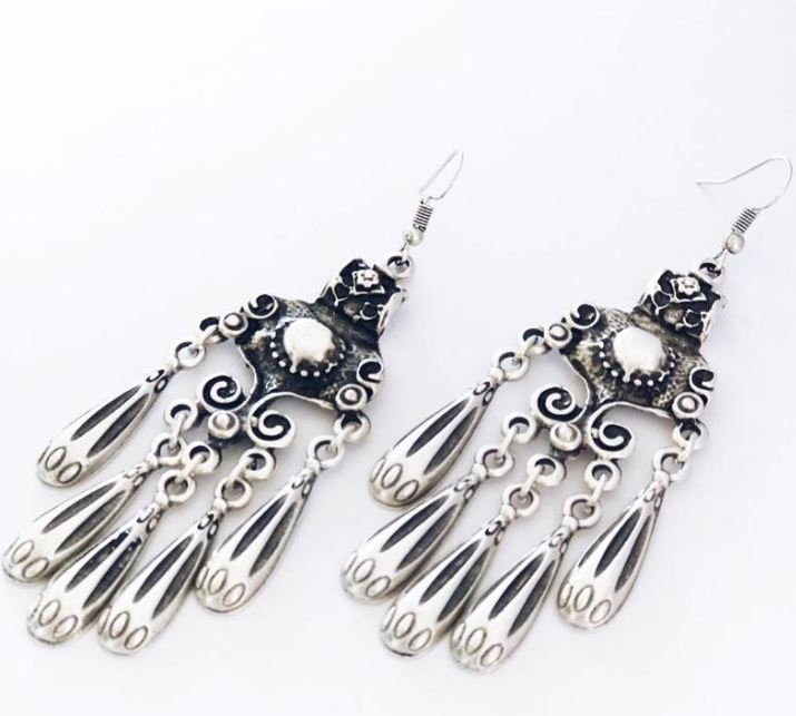 Lost Lover Twilight Chandelier Anatolian Collection Earrings