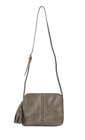 Pia Shoulder Bag in Dark Taupe