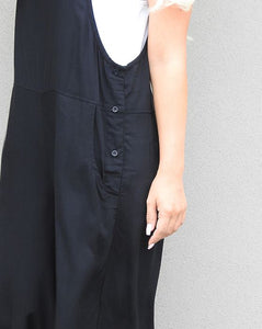 Paige Overalls in Black