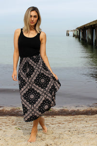 Samsara Skirt in Summer Storm