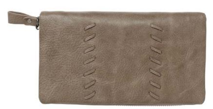 Sky Vegan Leather Wallet Dark Taupe