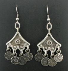 Tibet Turkish Silver Earrings
