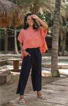 Weekender Linen Pants - Navy by San Jose