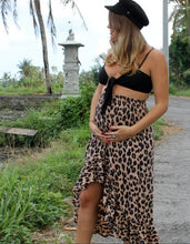 Wild & Free Skirt in Dark Leopard