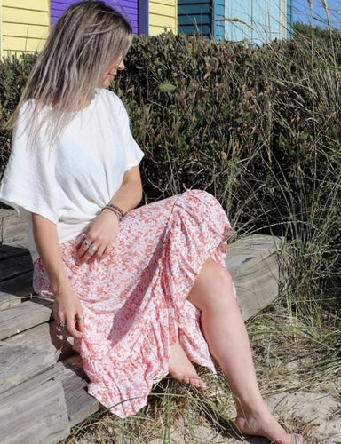 Wild and Free Skirt in Blossom Peach