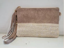 2 Tone Wristlet Bag - Assorted Colours