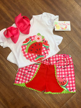 Watermelon Applique Tee and Coachela Shorts