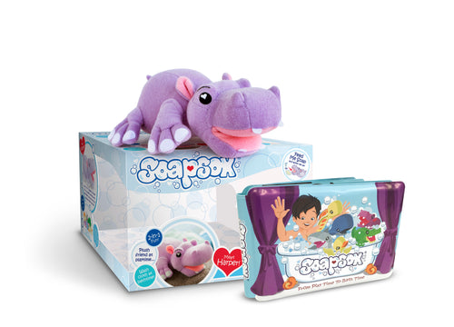 SoapSox - Harper the Hippo gift set