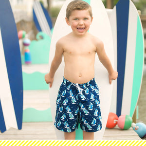Boys Viv & Lou Swim Trunks
