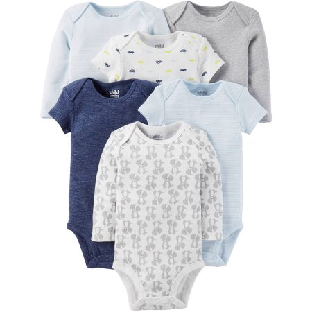 081c11e256ea Child of Mine by Carter s Newborn Baby Boy Short and Longsleeve ...
