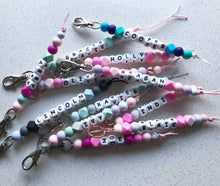 Personalised Bag Key Rings