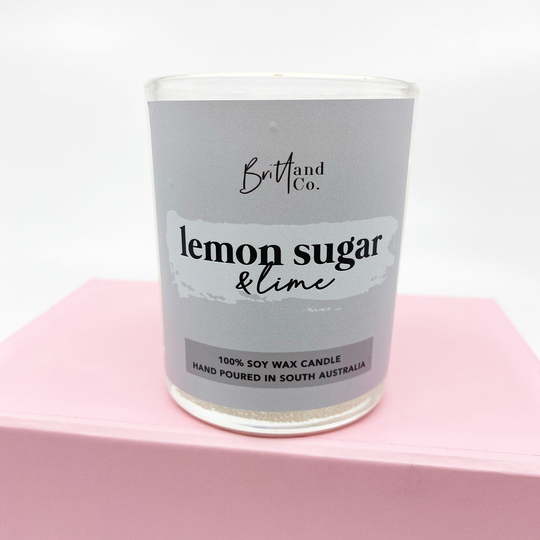 Lemon Sugar & Lime Small Candle