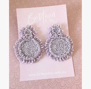 Esther Beaded Earrings