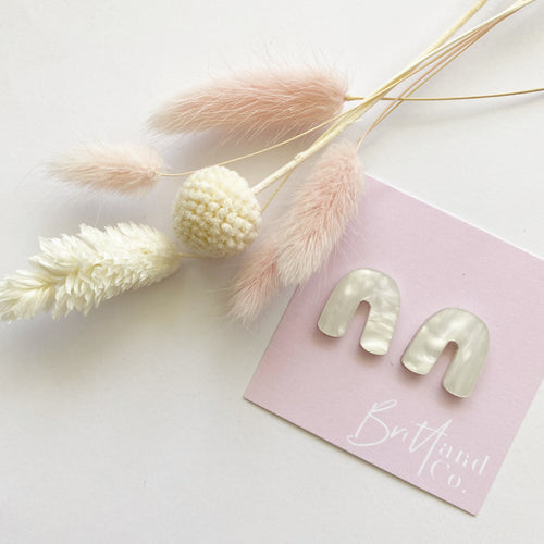 Pearl Arch Statement Studs