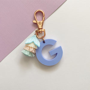 Mini 'G' Key Ring (Purple ) - One Off