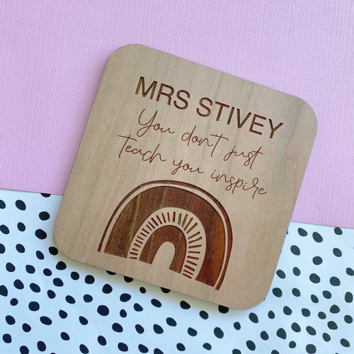 Teacher Coaster (PRE-ORDER: Approx. dispatch date 9th November)
