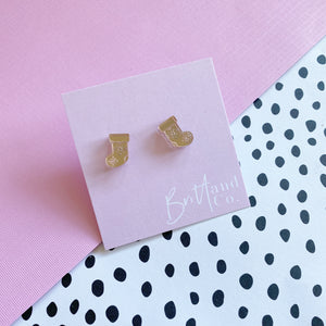 Rose Gold Stocking Studs