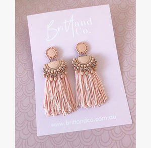 Amaya Blush Earrings