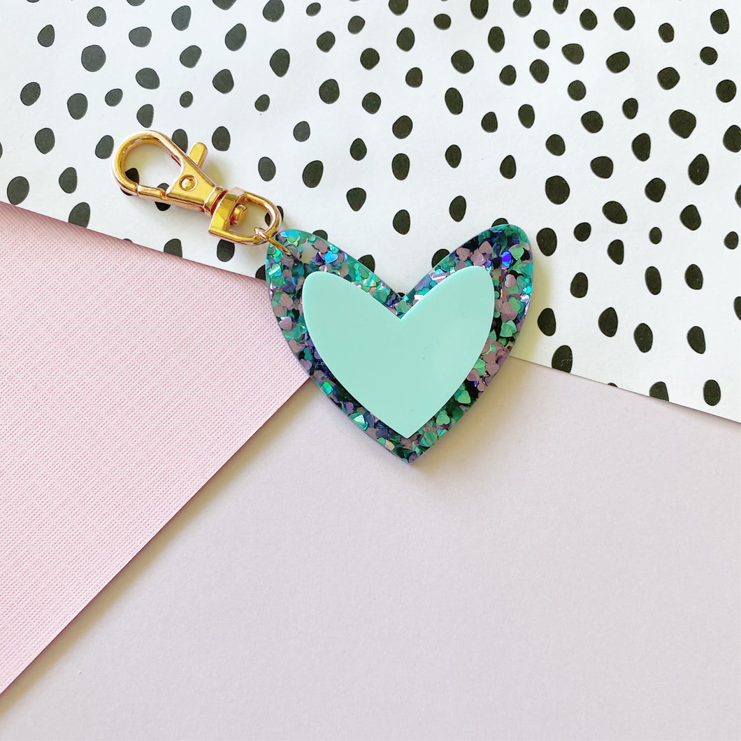 Mermaid Mia 'Spread The Love' Keyring