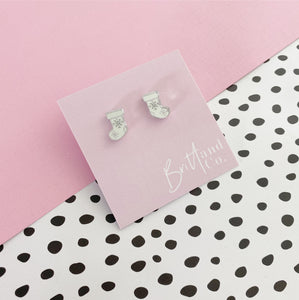 Silver Stocking Studs
