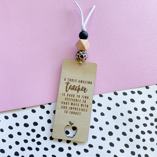 Tan Leopard Bookmark (Pre-Order- Approx dispatch 26.10.2020)