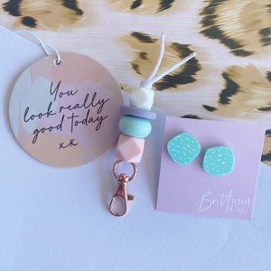 Air Freshener, Key Ring and Earring Bundle 2